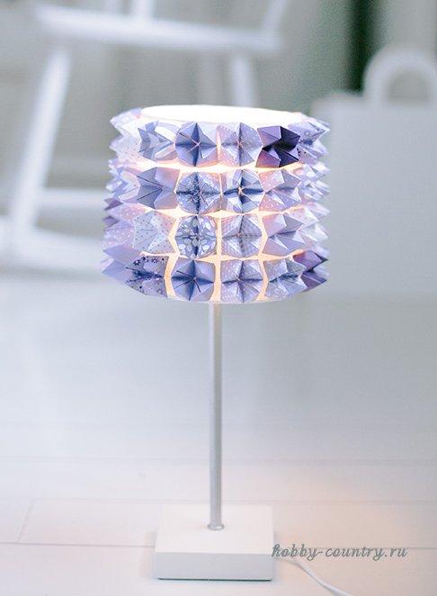 как задекорировать лампу