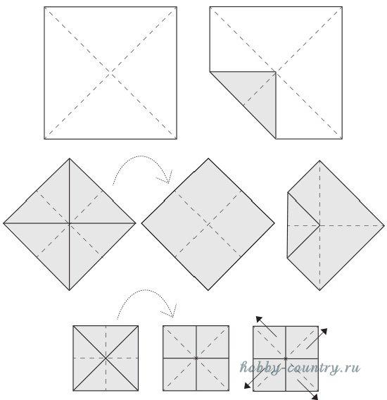 оригами элемент