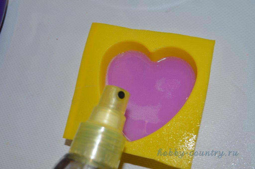 многослойное мыло из мыльной основы