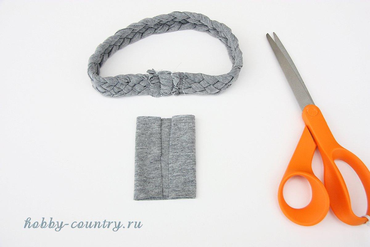плетеная повязка мастер-класс