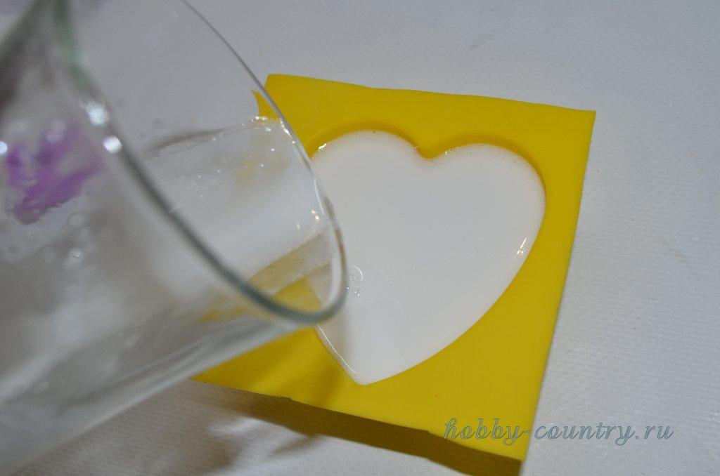изготовление мыла пошаговый мастер класс с фото