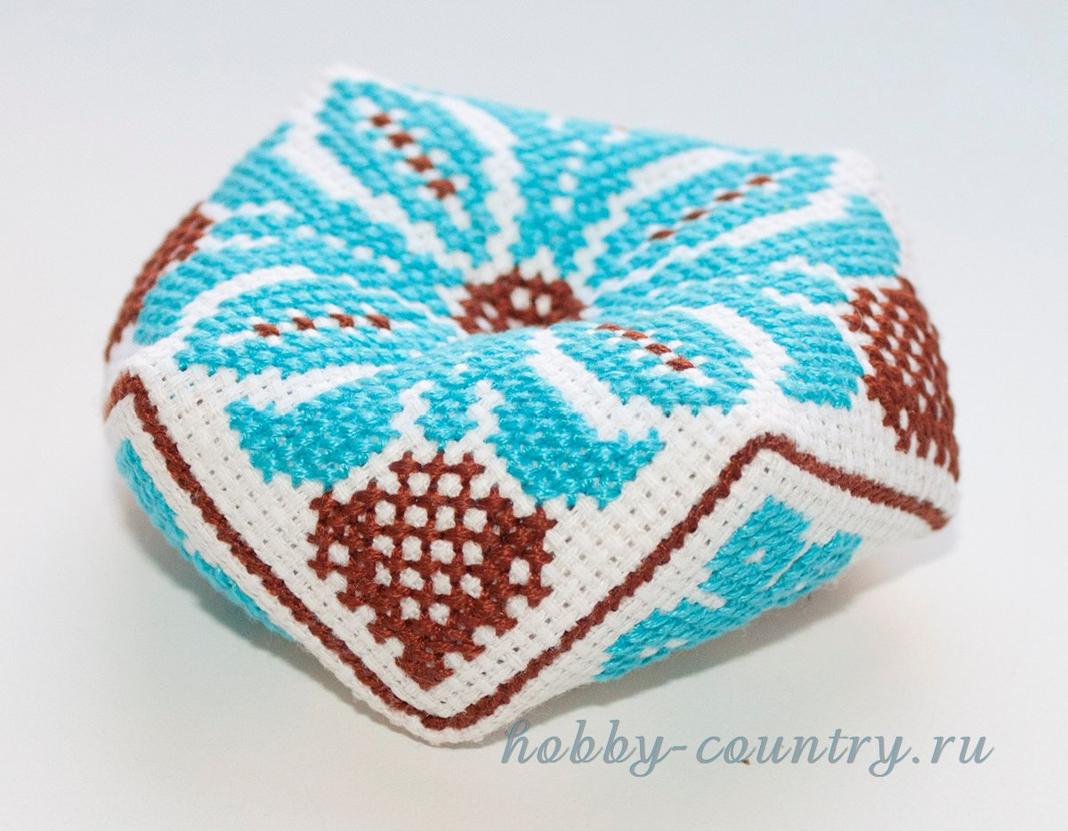 бискорню схема для вышивки цветок