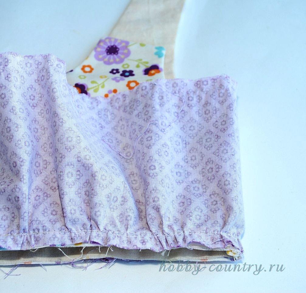 пошив детского платья