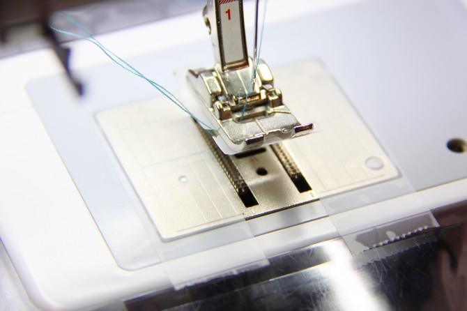 как шить по пленке пвх