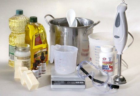 Soap making materials