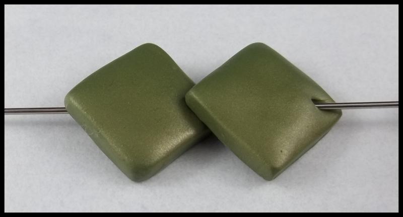 полимерная пластика бусины квадратные пошагово