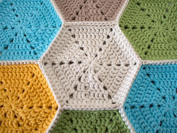 вязание из шестиугольников мастер-класс