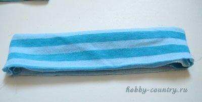 пошив шапочки для новорожденного