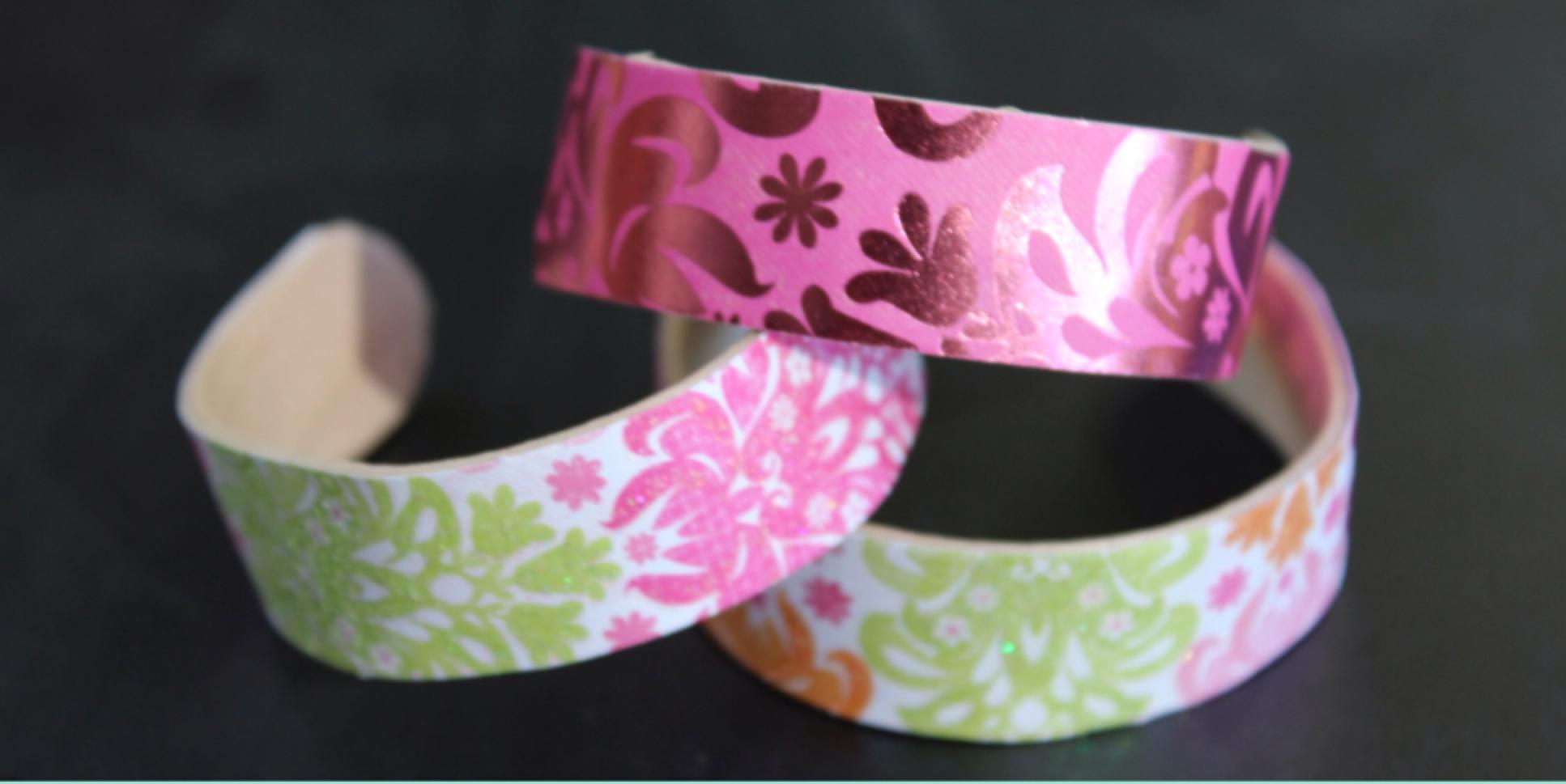 браслеты для девочки своими руками
