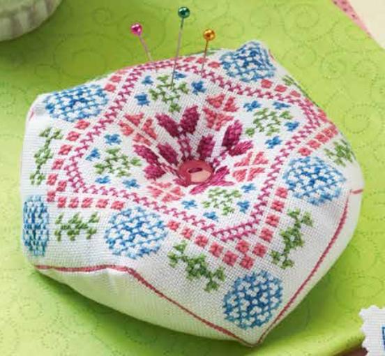 Схема для вышивки бискорню Весенний день