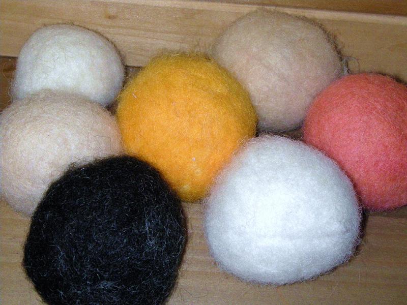шары валяние в стиральной машине