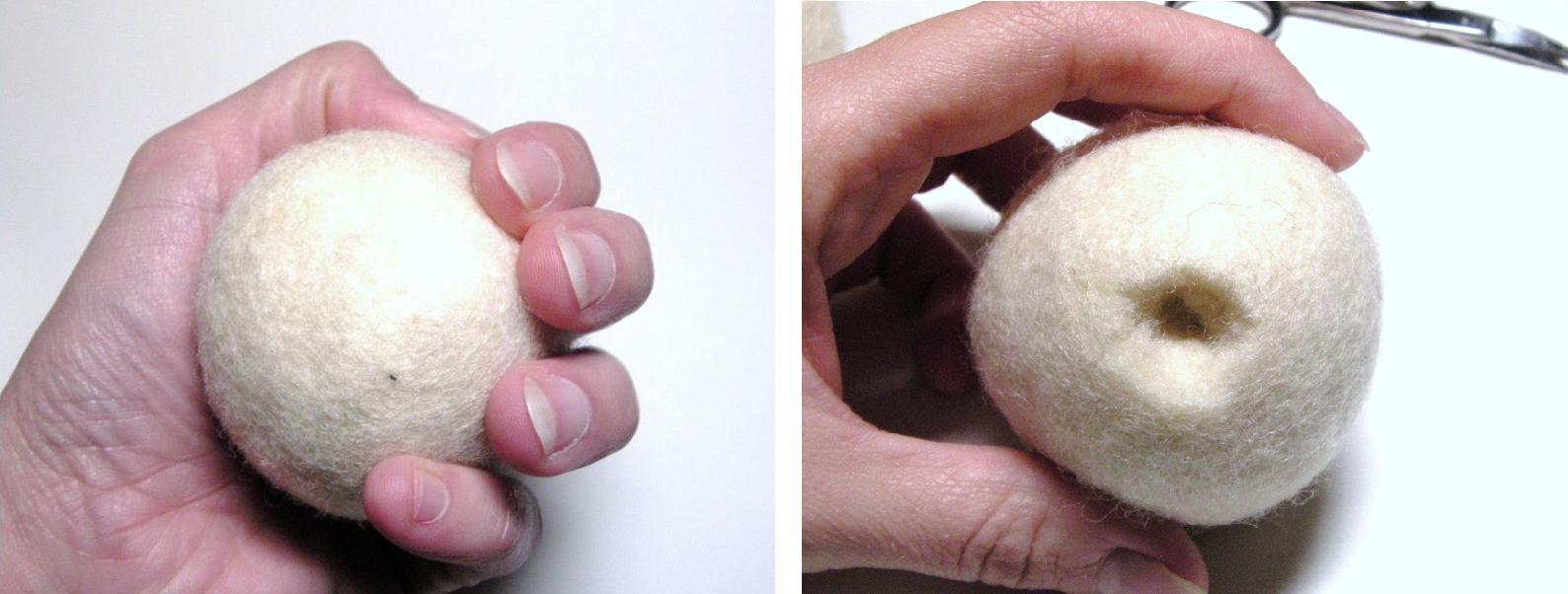как сделать петельку для игрушки из войлока