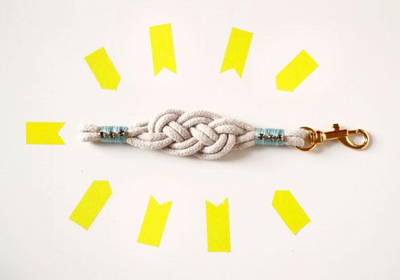 браслет из шнура плетение мастер класс