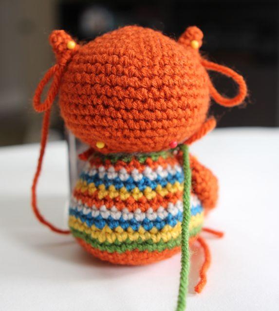 игрушка амигуруми сова мастер класс