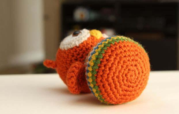 игрушек сова амигуруми
