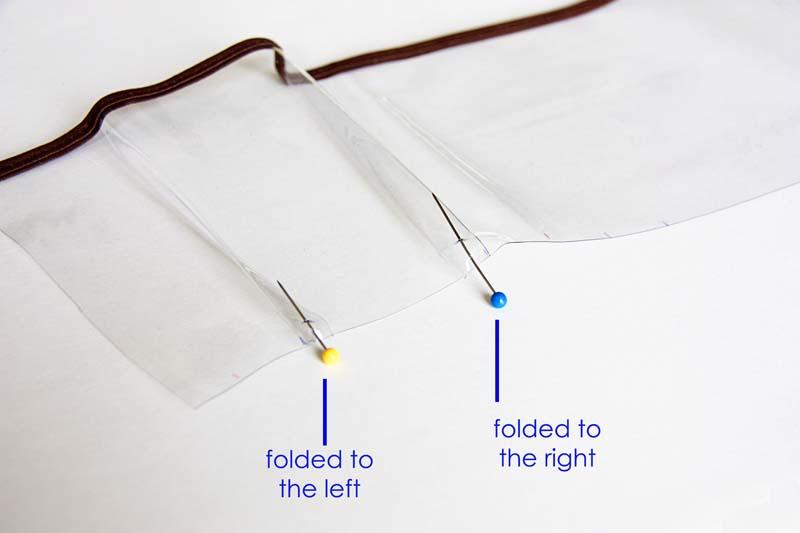 пошив органайзера карманы из пленки