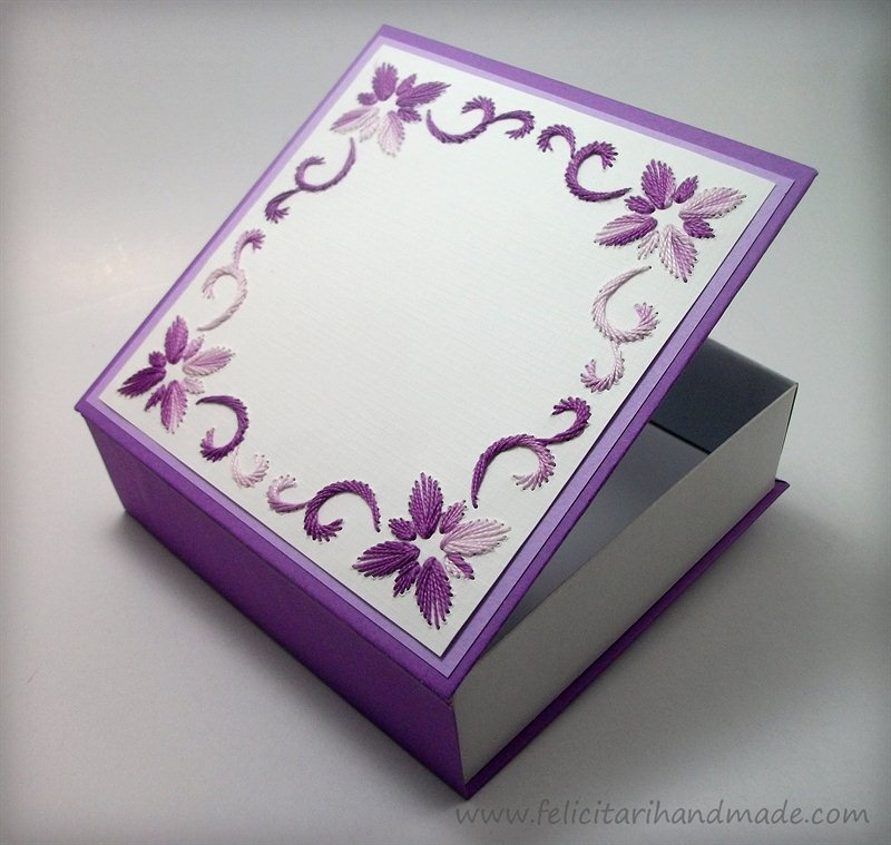 коробка-шкатулка ручной работы мастер класс