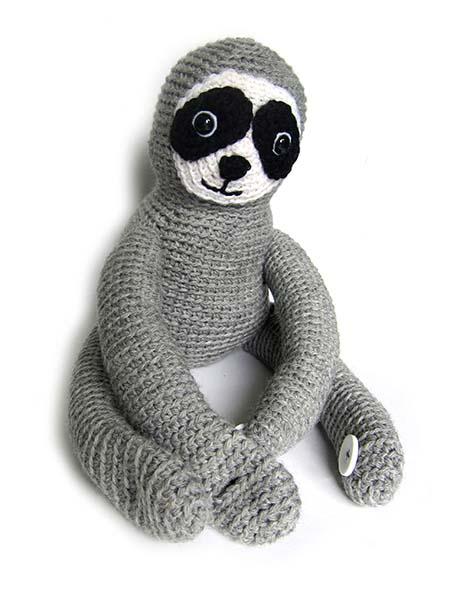 вышивка морды вязаной игрушке