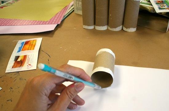 рукоделие из трубочек от туалетной бумаги мастер класс