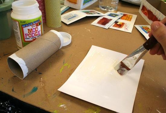 работы из бросовых материалов картонные коробки мастер класс