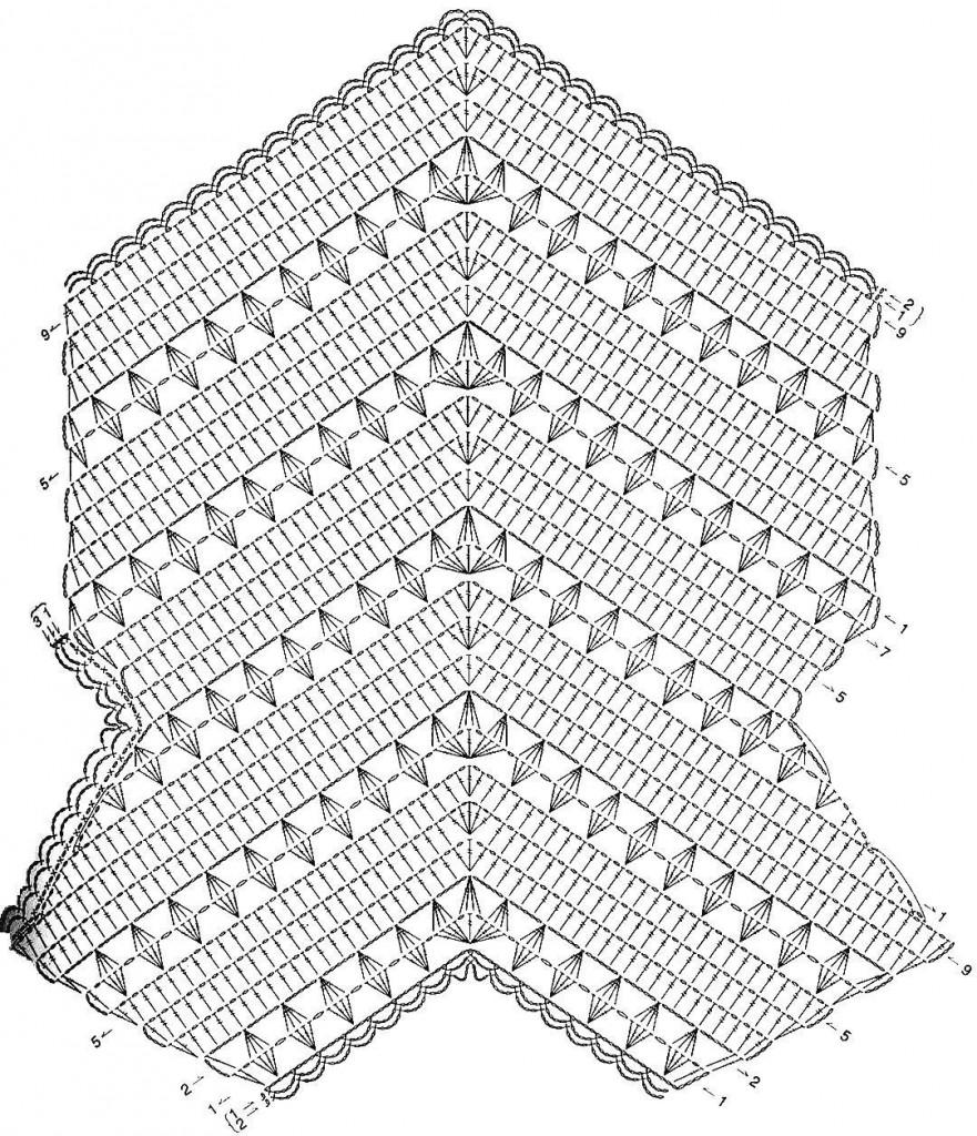 Схемы кофточек крючком из китайских журналов