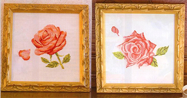 """Схемы для вышивки """"Роза"""""""