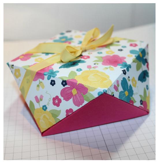 Как сделать необычную коробочку для подарка