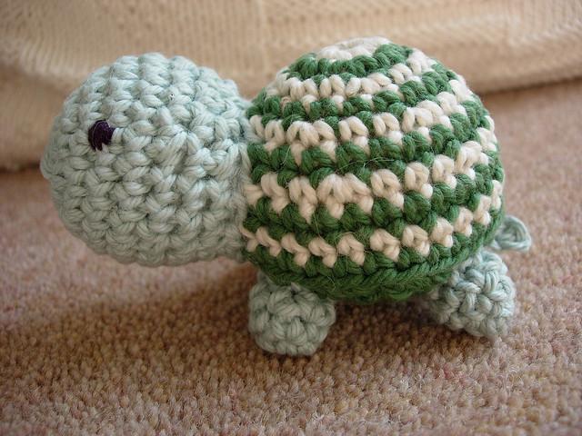 игрушка амигуруми черепаха описание