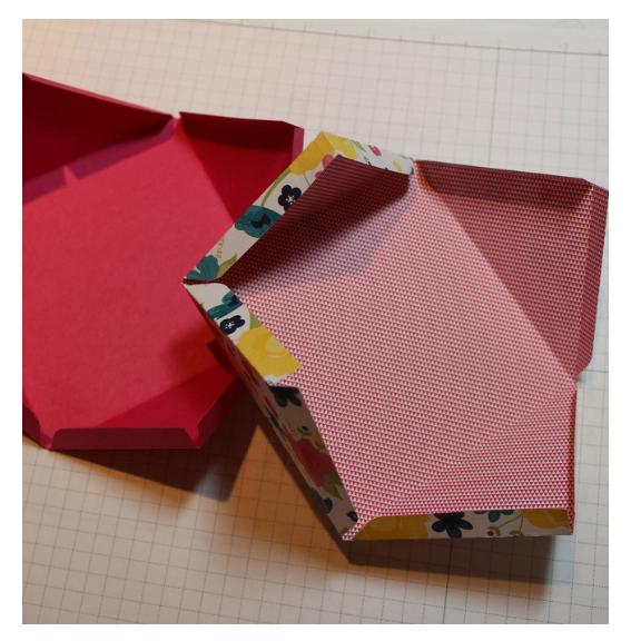 быстрая коробка своими руками без выкройки шаблона