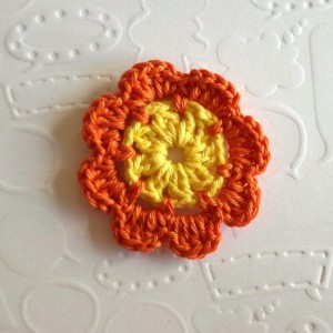 вязание мотивов крючком цветы