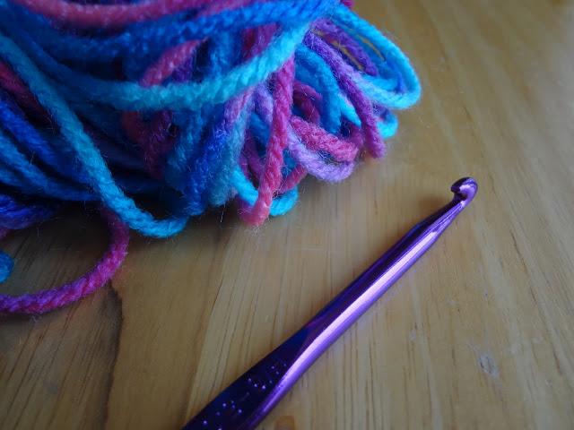 Вязание спиралей крючком