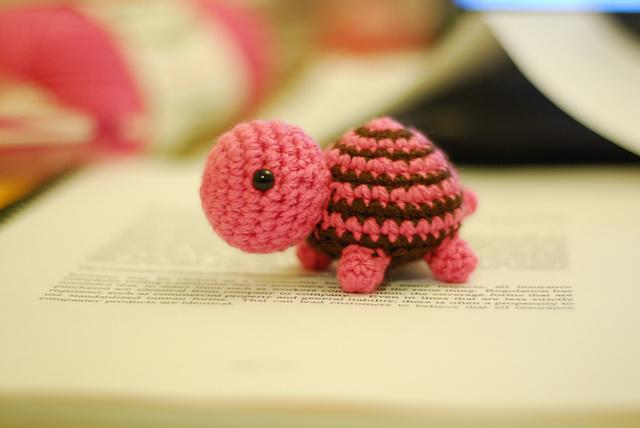 игрушка амигуруми черепаха