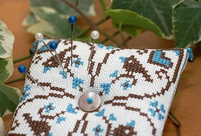 подушечка игольница схема для вышивки