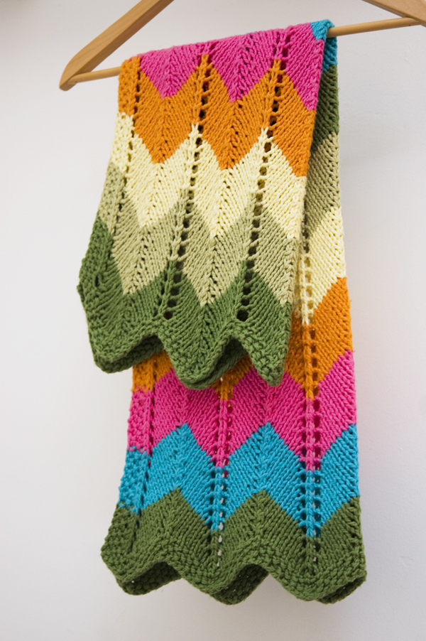 How To Knit A Zigzag Pattern : ??????? ????