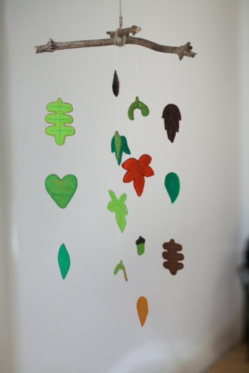 листочки из фетра выкройка шаблон