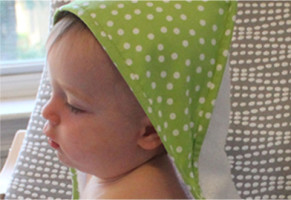 полотенце с капюшоном мастер класс
