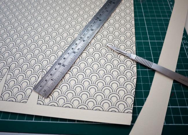 как сделать подарочный пакет из бумаги