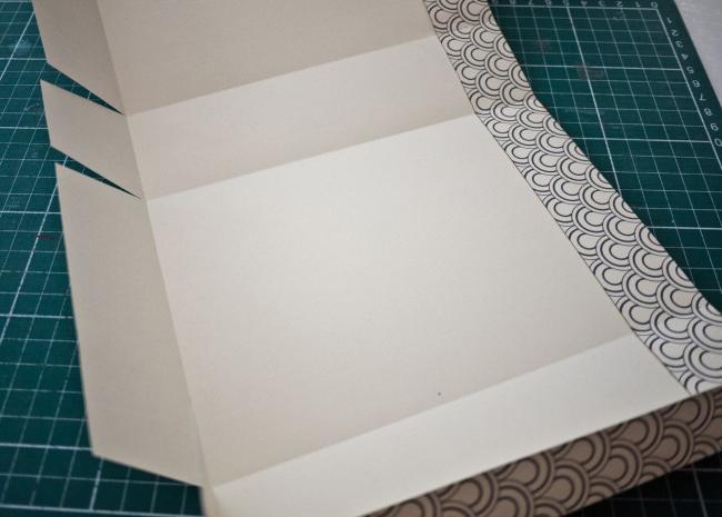шаблон выкройка подарочного пакета