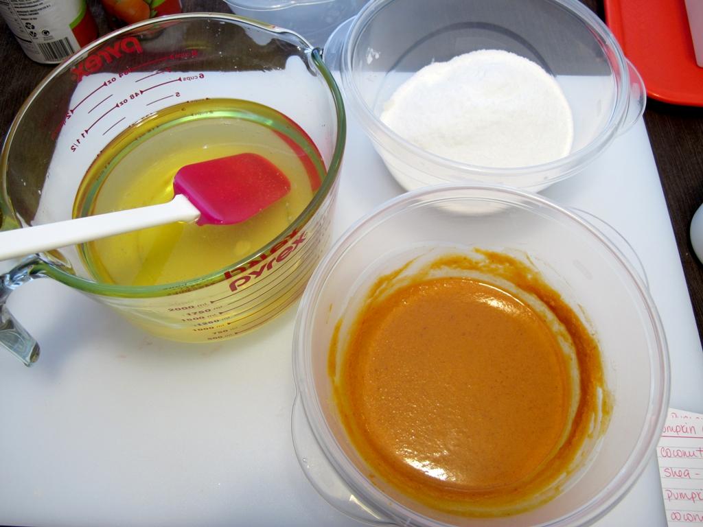 рецепт соляного мыла с тыквой на кокосовом молоке