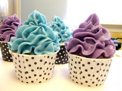 как сделать пирожные кексы из мыла