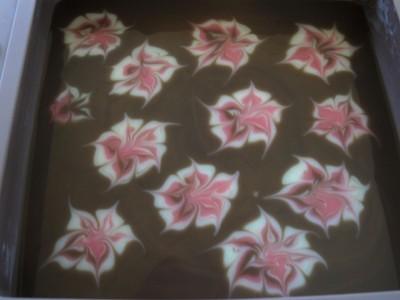 свирлы-цветы мастер класс мыло с нуля