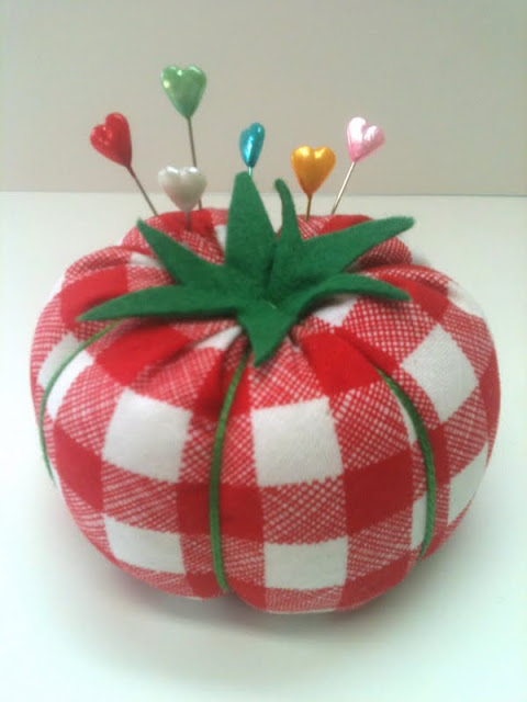 игольница  помидор мастер класс