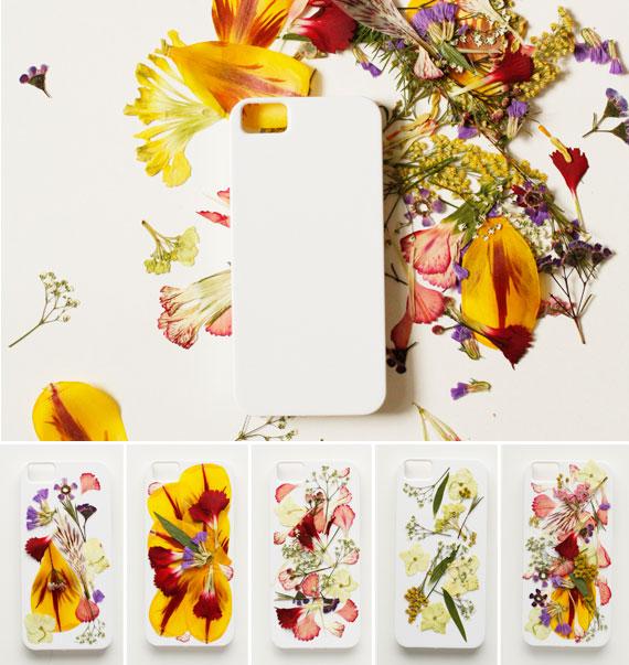 декор чехла для iphone сухоцветами засушенными цветами под эпоксидной смолой