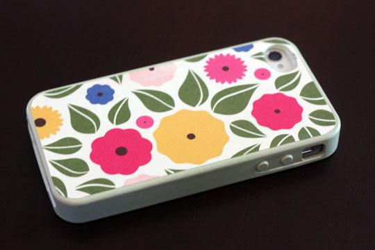 декупаж чехла для iphone