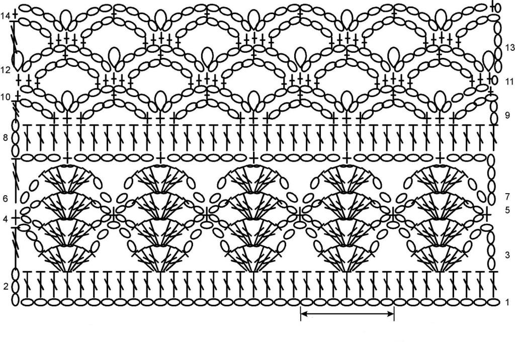 Вязание узоры для летней кофточки