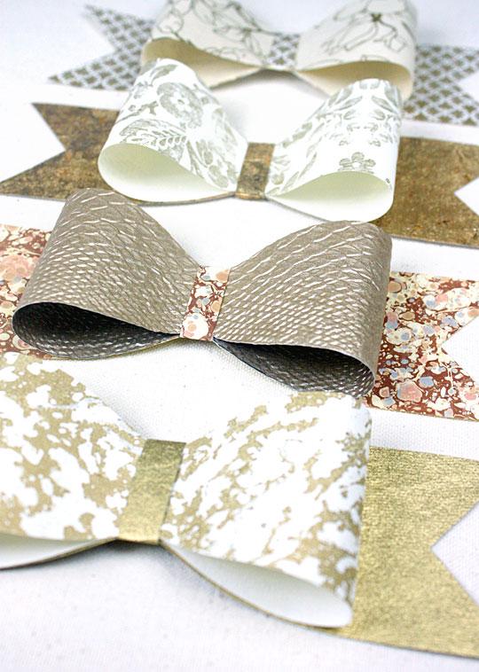 банты из бумаги