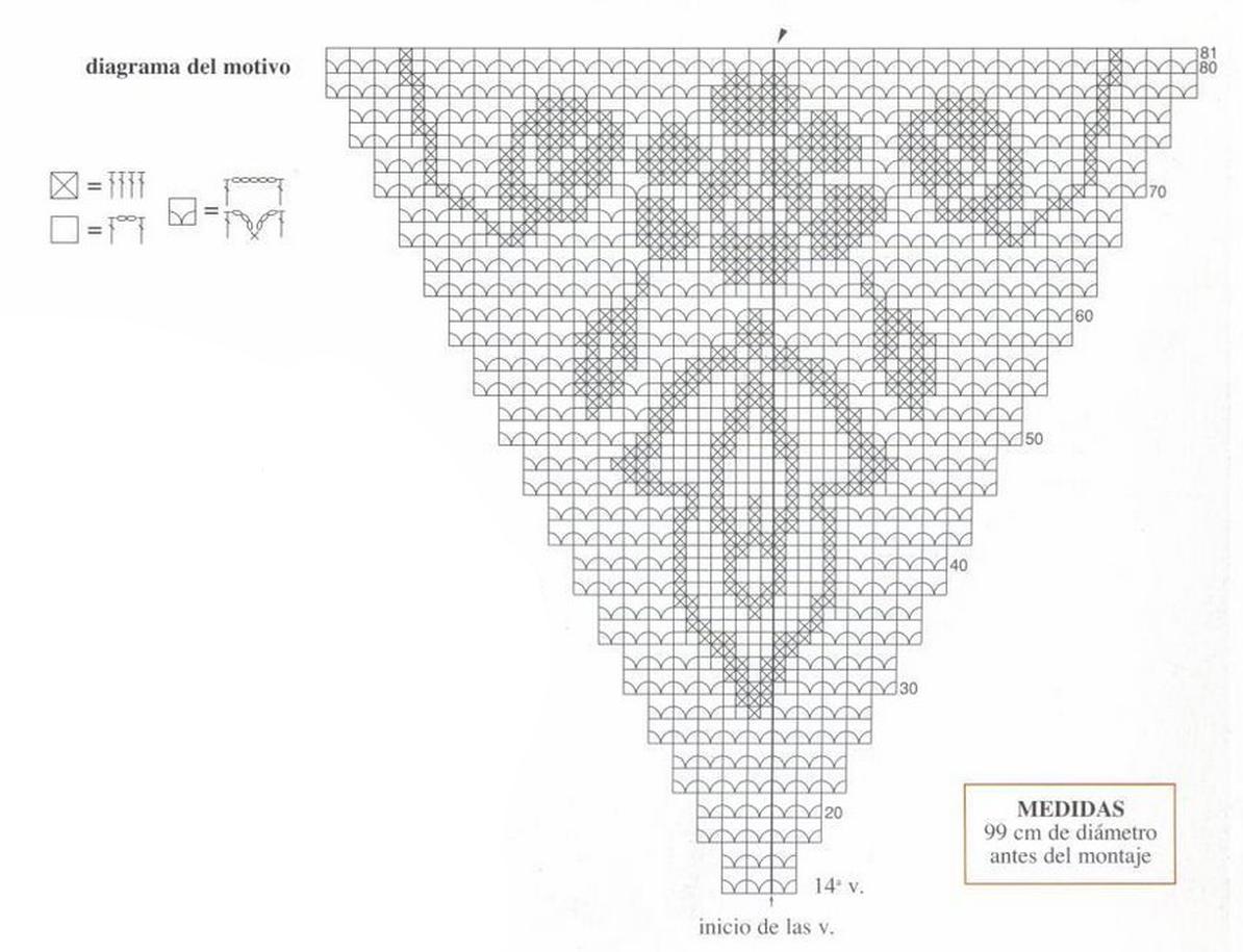 Зонт крючок вязание схема 615