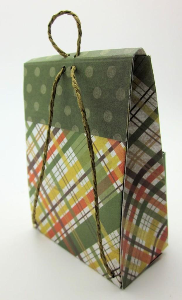 подарочный пакет в виде рюкзака как сделать
