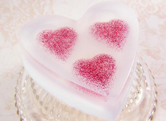 мыло сердце из мыльной основы