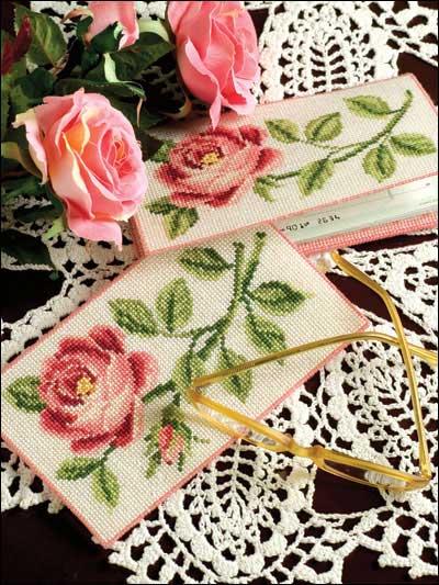 схема для вышивки розы крестом
